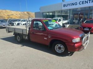 2005 Mazda B2600 Bravo DX Red 5 Speed Manual Cab Chassis Osborne Park Stirling Area Preview