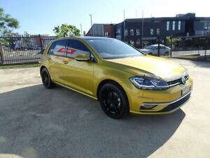 2017 Volkswagen Golf 7.5 MY18 110TSI DSG Highline Turmeric Yellow & Black Roof 7 Speed Nowra Nowra-Bomaderry Preview