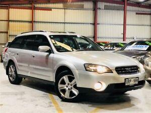 2003 Subaru Outback B3A MY03 H6 Luxury Silver Automatic Wagon Green Fields Salisbury Area Preview