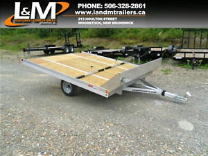 Wanted double wide galvanized or aluminum trailer for atv or sno