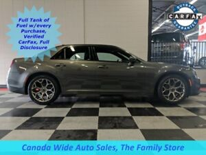 2018 Chrysler 300 300S, Leather, Panoramic Sunroof, Back Up Came