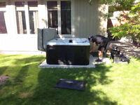 Concrete Pads - Hot tub pad, AC pad, Shed pads, Walkways, Garage