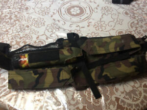 PAINTBALL CAMOUFLAGE POD HARNESS BELT