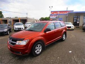 2010 Dodge Journey SE 4 CYLINDER SPACIOUS SUV EASY FINANCE