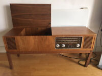 Columbia Solid State LP Record Player