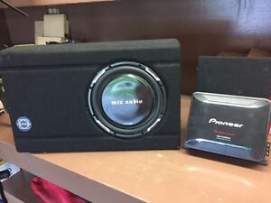 Pioneer Amp and Sub woofer