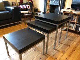 Credenza Malsjo Ikea : Black ikea malsjo sideboard fully built and unused in new town
