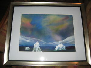 Original Framed and Signed Canadian Artist Ann Ziegler Landscape