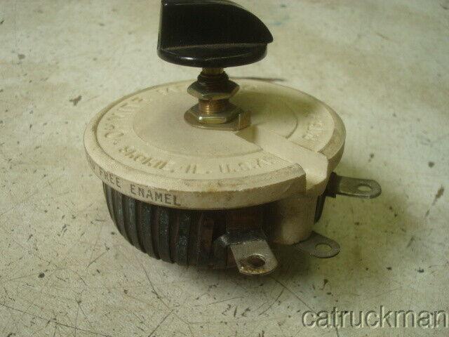 Used Ohmite RKSR50 Variable Resistor no sign of installation
