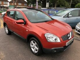 2008/08 NISSAN QASHQAI 2.0 DCI ACENTA 4WD HUGE SPEC PANORAMIC GLASS ROOF BLUETOOTH REAR PARKING AID