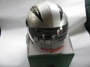 E-Cycle DOT Scooter 1/2 Helmet Full Visor Medium Size, New Med +
