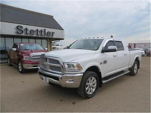 2014 RAM 3500 Longhorn 4x4 VENTED LEATHER SEATS!  SUNROOF!