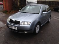 2004 Skoda Fabia 1.2 Comfort - New M.O.T - Cheap reliable quality motoring