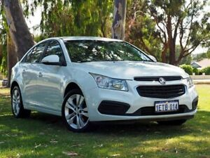 2015 Holden Cruze JH Series II MY15 Equipe White 6 Speed Sports Automatic Sedan Myaree Melville Area Preview