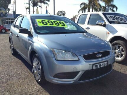 2007 Ford Focus LT CL Blue 4 Speed Automatic Hatchback