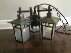 Gazebo lamp (electric plug in).
