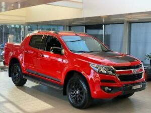 2018 Holden Colorado RG MY18 Z71 Pickup Crew Cab Red 6 Speed Sports Automatic Utility Belconnen Belconnen Area Preview