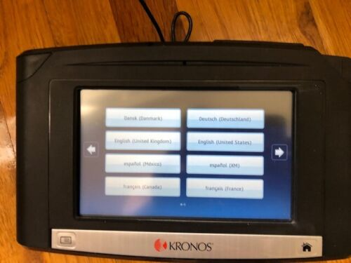Kronos Intouch  9000 8609000-028 PoE