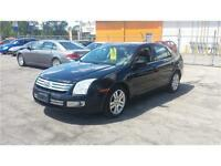 2008 Ford Fusion SEL - BLACK ON BLACK+LEATHER+SUNROOF
