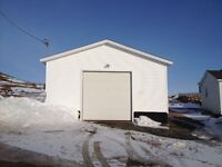 New detached garage for sale in Bonavista!
