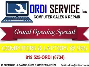 GRAND OPENING SPECIAL COMPUTER & LAPTOP LIKE NEW @BEST PRICE IN TOWN!!