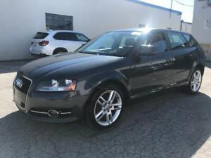 2010 Audi A3 2.0T NO ACCIDENT/ LOW KM 81000km Certified!!