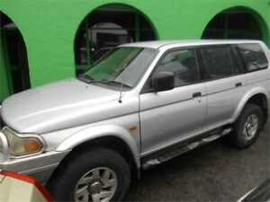 2003 Mitsubishi Challenger PA-MY03 (4x4) Silver 5 Speed Manual 4x4 Wagon Nailsworth Prospect Area Preview