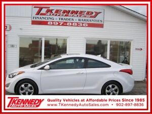 2013 HYUNDAI ELANTRA COUPE GLS.ONLY $89.00 B/W OAC 0 DOWN