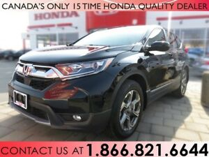 2017 Honda CR-V EX-L | AWD | HONDA PLUS WARRANTY | 1 OWNER | NO