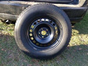 245/65R17 BF Goodrich Winter Tires On Rims