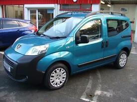 Peugeot Bipper 1.3HDi s/s Tepee Outdoor Citroen Nemo Multispace van mpv £30 Tax