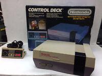 Nintendo complète avec boite originale 2 manettes 159.95$