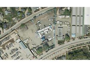 For Lease - 2.1 acres of fenced industrial property