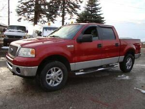 2008 FORD  F150 XLT  * LARIAT*4X4 * LEATHER * NEW TIRES