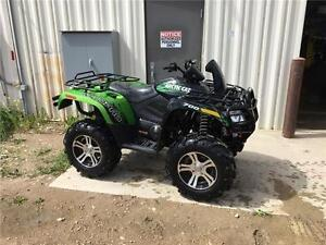 2012 Arctic Cat Mud-Pro 700 LTD with Power Steering