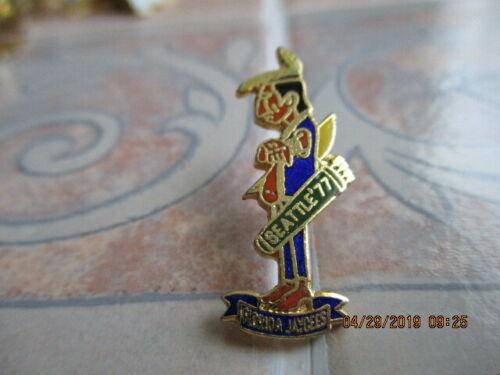 Rare Vintage 1977 Florida Jaycee Pin--Seminole Indian with arrows