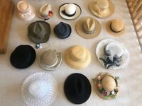 Selection of Ladies and Men's Hats. £10-£15 each. Collect Chichester