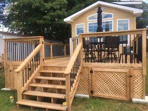 2015 Waterfront Cottage Park Model - Turnkey Package