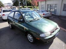 1999 Ford Festiva 101000KMS Green 5 Speed Manual Hatchback Victoria Park Victoria Park Area Preview