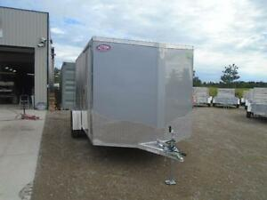 ALL ALUMINUM ENCLOSED 7X12' TRAILER -LIGHT WEIGHT, NO RUST ! London Ontario image 2
