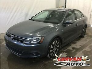 Volkswagen Jetta Hybrid Highline Navigation Cuir Toit Ouvrant MA