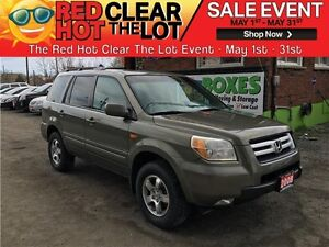 2008 Honda Pilot EX-L 4WD SUV REDUCED! CERTIFIED! DVD! LEATHER!