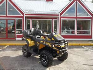 SOLD!!! 2013 CAN AM OUTLANDER MAX XT 1000