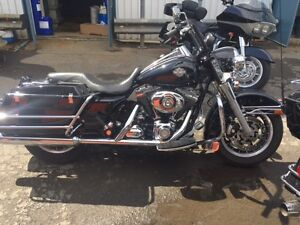 2008 HARLEY POLICE ROAD KING