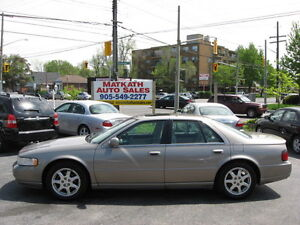 **2001 Cadillac STS Leather & Sunroof**  Certified & E-tested
