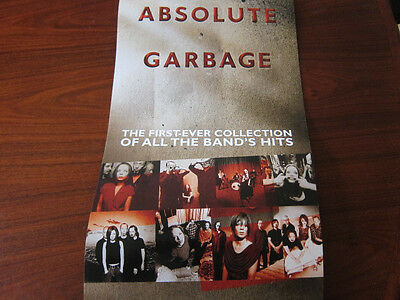 GARBAGE Absolute Promo poster 12x24 double sided