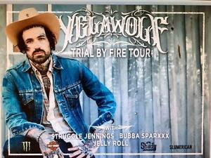 4 tickets to yelawolf tonight With bubba sparxxx,