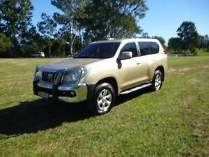 2010 Toyota Landcruiser Prado KDJ150R GXL Gold 5 Speed Sports Automatic Wagon Maryborough Fraser Coast Preview