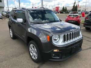2017 Jeep Renegade Limited | 4x4 | Removable Roof | Leather