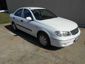 2003 Nissan Pulsar N16 S2 ST White 5 Speed Manual Sedan Kippa-ring Redcliffe Area Preview